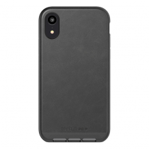 TECH21 EVO LUXE (IPHONE XR FAUX  LEATHER BLACK)-1