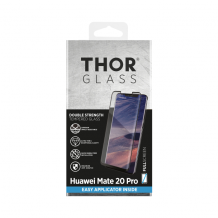 THOR FG FS Glass with Applicator for Mate 20 Pro black-1