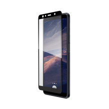 THOR FS Glass With Applicator for Galaxy A7 (2018) black-1