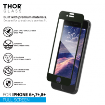 THOR FS Glass with Applicator for iPhone 6+/6s+/7+/8+ black-1
