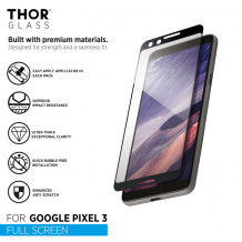 THOR FS Glass with Applicator for Pixel 3 black-1