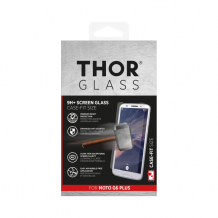 THOR Glass Case-Fit for Moto G6 Plus clear-1