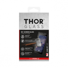THOR Glass Case-Fit for Xperia L2 clear-1