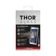 THOR Glass Case-Fit for Xperia XA2 clear-1