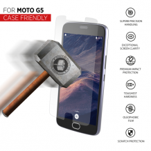 THOR Tempered Glass CF for Moto G5 clear-1