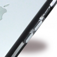 TPU Bumper iPhone 6 / 6S Sort / Transparent-1