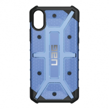 UAG Plasma cover til iPhone X Sort/Blå-1