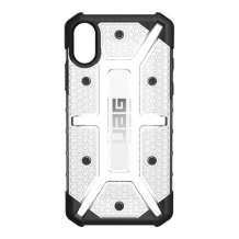UAG Plasma cover til iPhone X Sort/Transparent-1