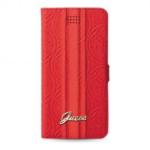 "Universal L Heritage Booklet Case w/Card Slots Red 4.6"" - 5.2""-1"