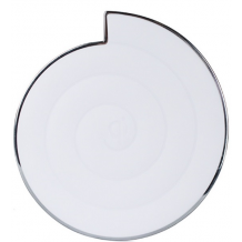 Universal Trådløs Oplader Noosy QI Wireless Charger Hvid-1