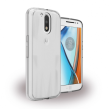 UreParts - Acrylic Case - Hardcover with Bumper - Motorola Moto G4, Moto G4 Plus - Clear-1