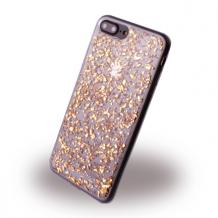 UreParts - Flakes Case - Silicone Cover - Apple  iPhone 7 Plus, 8 Plus - Gold-1