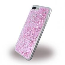 UreParts - Flakes Case - Silicone Cover - Apple iPhone 7 Plus, 8 Plus - Pink-1