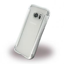 UreParts - Shockproof Anti-slip - Silicone Cover / Phone Skin - Samsung G930F Galaxy S7 - Silver-1