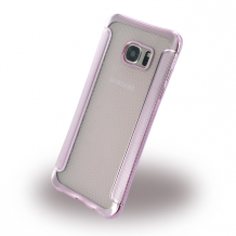 UreParts - Shockproof Anti-slip - Silicone Cover / Phone Skin - Samsung G935F Galaxy S7 Edge - Pink-1