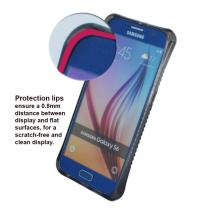 UreParts - TPU Cover / Case - Samsung G920F Galaxy S6 - Transparent/ Black-1