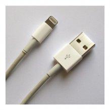 USB 2.0 Kabel A - Lightning lade & sync, Hvid 1m-1