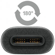USB-C til USB Data- og ladekabel Qnect Superspeed+ Type-C,  1 meter-1