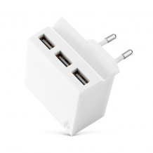Usbepower HIDE Mini - Hub charger high speed 3 USB ports & phone stand-1