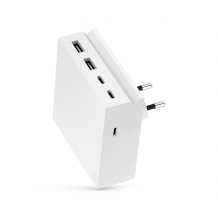 Usbepower HIDE PD Wall with 3 USB-C and 2 USB outlets-1