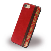 Uunique - Queens UUFFIP7HS001 - Hard Cover - Apple iPhone 7 - Red-1