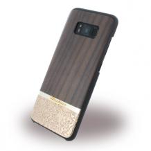 Uunique - Rosewood & Gold Embossed UUS8SLSHS05 - Hardcover - Samsung G950 Galaxy S8 - Brown-1