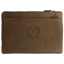"""Valenta Classic Tablet Sleeve i ægte læder til skærme op til 8.4"""""""