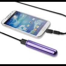 Veho PEBBLE Smartstick+ Powerbank – 2800mAh in Purple-1