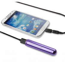 Veho PEBBLE Smartstick+ Portable Battery – 2800mAh in Purple-1