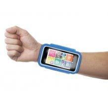 "Puro Universal Running Wristbands til telefoner op til 4.3"" Blå"