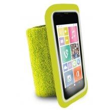 "Puro Universal Running Wristbands til telefoner op til 4.3"" Lime"