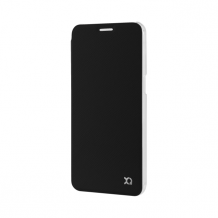XQISIT Flap Cover Adour for Galaxy S7 black-1