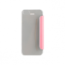 XQISIT Flap Cover Adour for iPhone 5/5s pink metallic-1