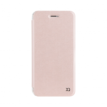 XQISIT Flap Cover Adour for iPhone 7 Plus rose gold col.-1