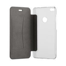 XQISIT Flap Cover Adour for P8 Lite (2017)/Honor 8 lite black-1