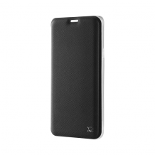 XQISIT Flap Cover Adour TPU for Galaxy S9+ black-1