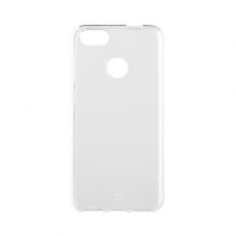 Xqisit Flex Case Silikone cover til Huawei P9 Lite Mini/Y6 Pro, Gennemsigtig-1