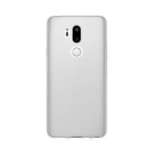 Xqisit Flex Case Silikone cover til LG G7 ThinQ, Gennemsigtig-1