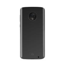 Xqisit Flex Case Silikone cover til Motorola Moto G6 Plus, Gennemsigtig-1