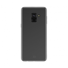 Xqisit Flex Case Silikone cover til Samsung Galaxy A8 (2018), Gennemsigtig-1