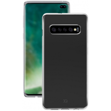 Xqisit Flex Case Silikone cover til Samsung Galaxy S10+ (Plus), Gennemsigtig-1