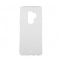 Xqisit Flex Case Silikone cover til Samsung Galaxy S9+, Gennemsigtig-1