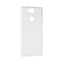 Xqisit Flex Case Silikone cover til Sony Xperia XA2, Gennemsigtig-1
