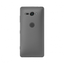 Xqisit Flex Case Silikone cover til Sony Xperia XZ2 Compact, Gennemsigtig-1