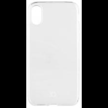 XQISIT Flex Cover til iPhone X Transparent-1