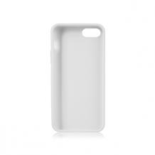 Xqisit Flex Silikone cover til iPhone 5/5S/SE Hvid-1