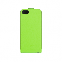 XQISIT Flip Cover for iPhone 5/5s green-1