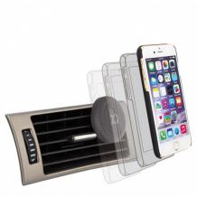 XQISIT magnet mobilholder til ventilations gitteret sort ekstra stærk-1