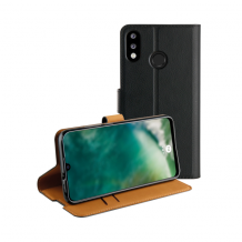 XQISIT Slim Wallet Selection TPU for P30 Lite black-1