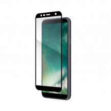 XQISIT Tough Glass CF for Galaxy J4 plus (2018) black-1